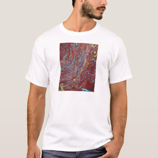 Blue Squiggles T-Shirt