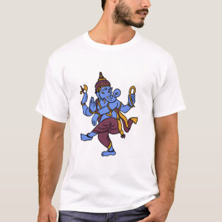 Blue Sri Ganesha T-Shirt