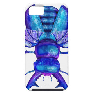 Blue Stag Beetle iPhone SE/5/5s Case