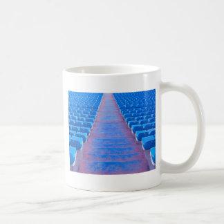 Blue Stairs Series Classic White Coffee Mug