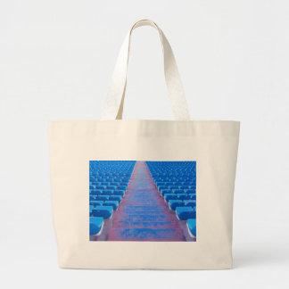 Blue Stairs Series Large Tote Bag