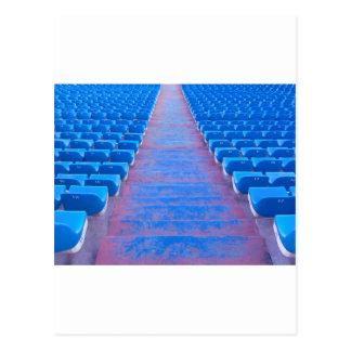 Blue Stairs Series Postcard