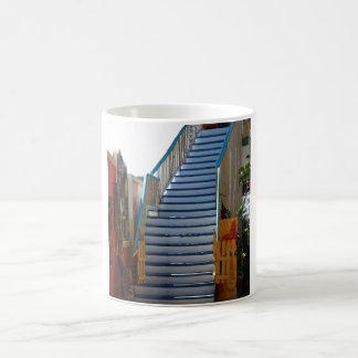 Blue Stairway Coffee Mug