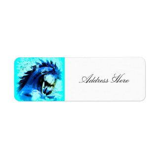 blue stallion rearing label