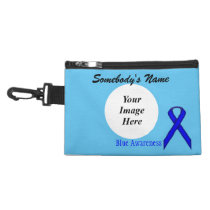Blue Standard Ribbon Accessory Bag