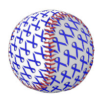 Blue Standard Ribbon Baseball