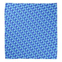 Blue Standard Ribbon by Kenneth Yoncich Bandana