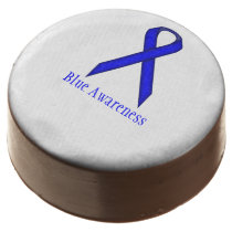 Blue Standard Ribbon by Kenneth Yoncich Chocolate Dipped Oreo