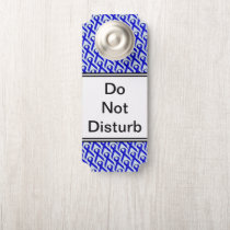 Blue Standard Ribbon by Kenneth Yoncich Door Hanger