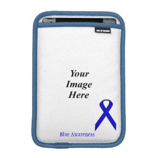 Blue Standard Ribbon by Kenneth Yoncich iPad Mini Sleeve