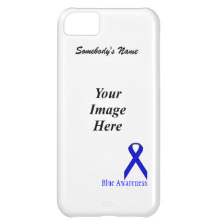 Blue Standard Ribbon by Kenneth Yoncich iPhone 5C Case