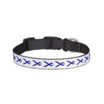 Blue Standard Ribbon by Kenneth Yoncich Pet Collar