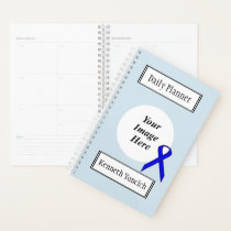 Blue Standard Ribbon by Kenneth Yoncich Planner