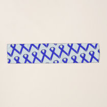 Blue Standard Ribbon by Kenneth Yoncich Scarf