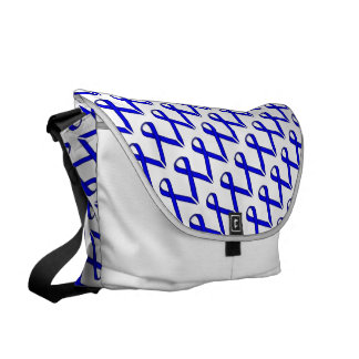 Blue Standard Ribbon Courier Bags