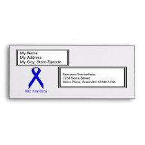 Blue Standard Ribbon Envelope