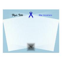 Blue Standard Ribbon Flyer