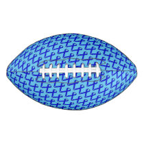 Blue Standard Ribbon Football