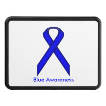 Blue Standard Ribbon Hitch Cover