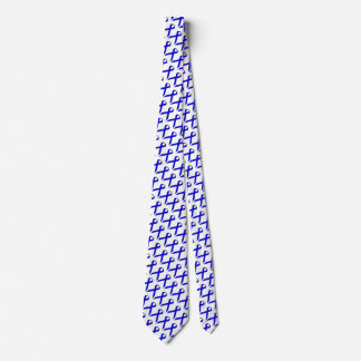 Blue Standard Ribbon Neck Tie