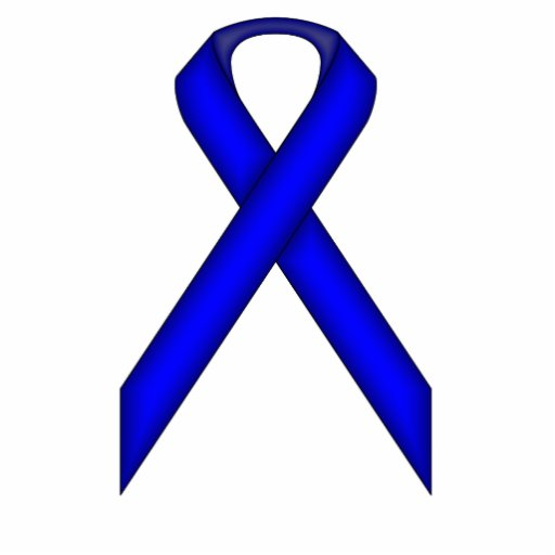 Blue Standard Ribbon Photo Sculptures