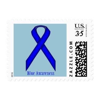 Blue Standard Ribbon Postage