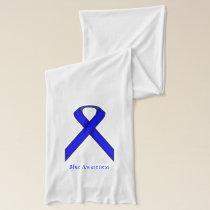 Blue Standard Ribbon Scarf