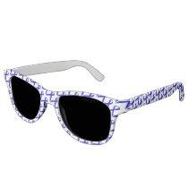 Blue Standard Ribbon Sunglasses