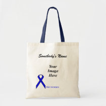 Blue Standard Ribbon Template by Kenneth Yoncich Tote Bag