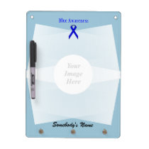 Blue Standard Ribbon Template Dry-Erase Board