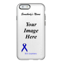Blue Standard Ribbon Template Incipio Feather Shine iPhone 6 Case