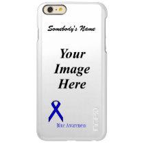 Blue Standard Ribbon Template Incipio Feather Shine iPhone 6 Plus Case