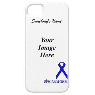 Blue Standard Ribbon Template iPhone SE/5/5s Case