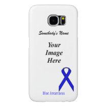 Blue Standard Ribbon Template Samsung Galaxy S6 Case