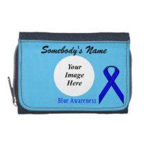 Blue Standard Ribbon Template Wallet