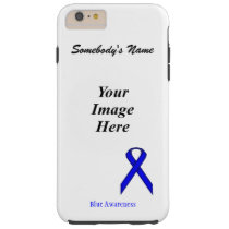 Blue Standard Ribbon Tmpl by Kenneth Yoncich Tough iPhone 6 Plus Case