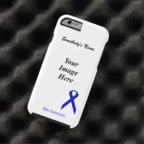 Blue Standard Ribbon Tmpl by Kenneth Yoncich Tough iPhone 6 Case