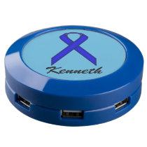 Blue Standard Ribbon USB Charging Station