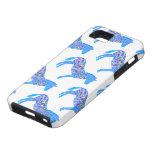 Blue Standing Zebra Polka Dots iPhone 5 Cover