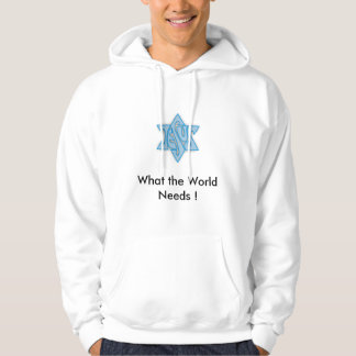 Blue star(3), What the World Needs ! Hoodie