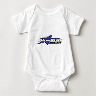 Blue Star Airlines Baby Bodysuit