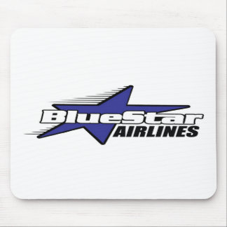 Blue Star Airlines Mouse Pad
