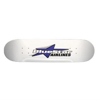 Blue Star Airlines Skateboard