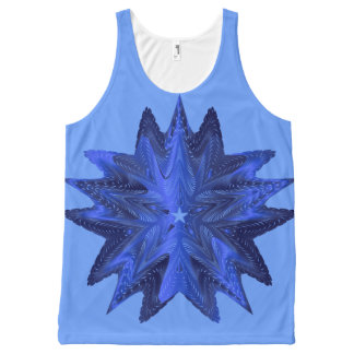 Blue Star !! All-Over-Print Tank Top