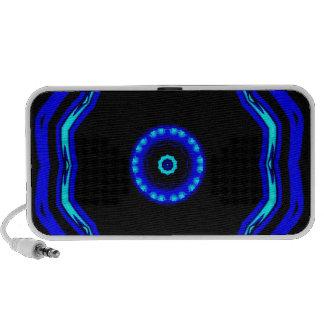 Blue Star Artistic Doodle Speaker System