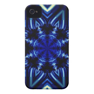 Blue Star BlackBerry Bold Case-Mate Barely There Case-Mate iPhone 4 Case