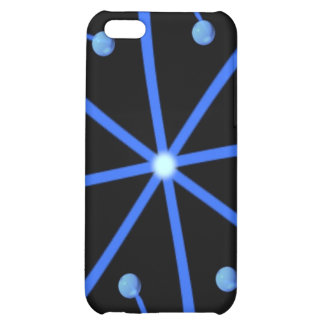 BLUE STAR COVER FOR iPhone 5C