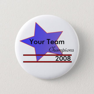 Blue Star Custom Team Name Champion Button