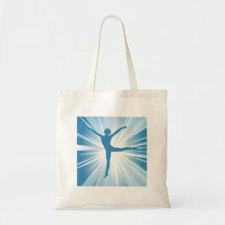 Blue Star Dancer Tote Bag