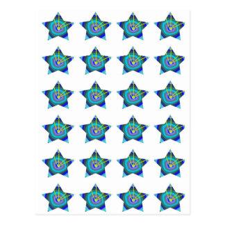 BLUE STAR Decorations: Art NAVIN Joshi  lowprice Postcard